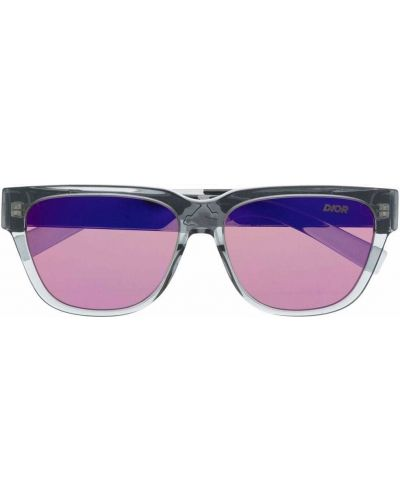 Okulary z printem - różowe Dior Eyewear