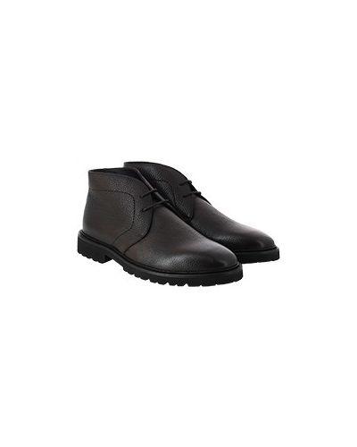 Коричневые ботинки Pellettieri Di  Parma