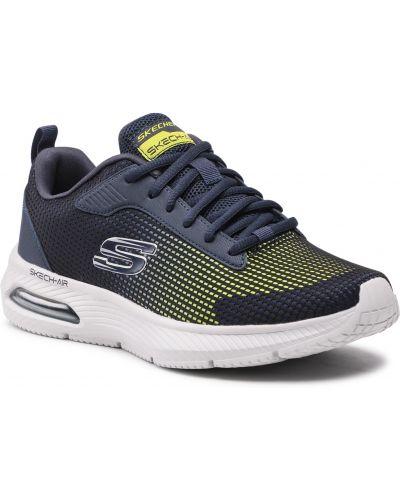 Sneakersy - granatowe Skechers