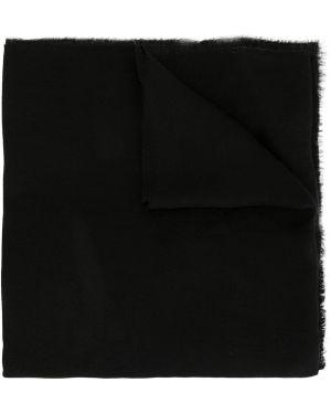 Czarny etola z jedwabiu koronkowy Dolce And Gabbana