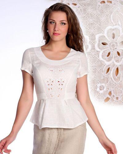 Блузка льняная Грандсток
