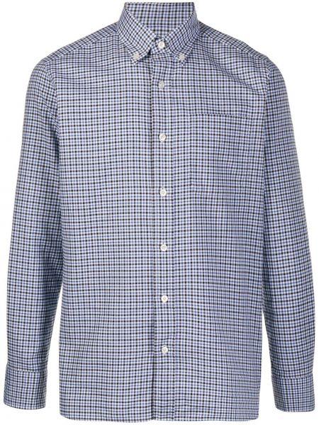 Koszula z długim rękawem długa niebieski Tom Ford