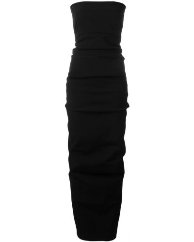 Вечернее платье без бретелек с карманами Rick Owens