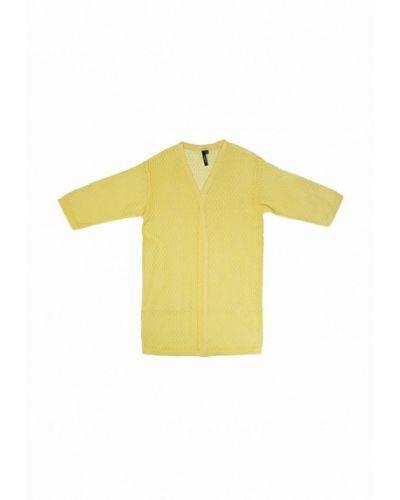Желтый кардиган Yumster