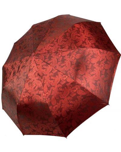 Складной зонт - бордовый Flagman