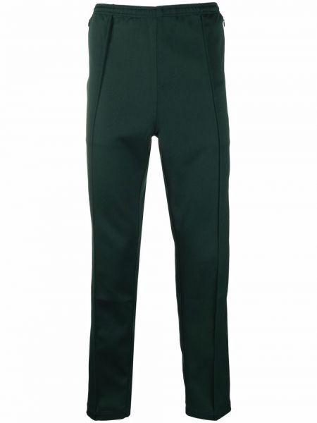 Zielone spodnie Needles