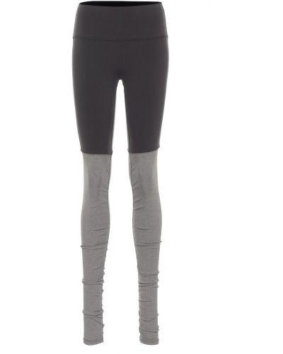 Nylon czarny legginsy na jogę Alo Yoga
