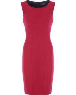 Трикотажное платье миди - красное Paul&shark