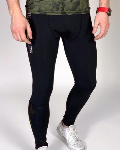 Теплые кожаные леггинсы для фитнеса Freever