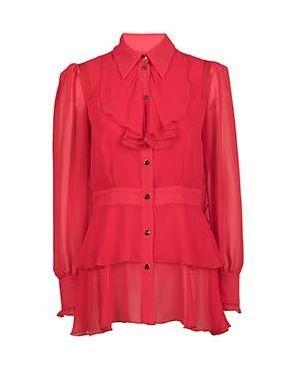 Блузка красная Via Torriani 88