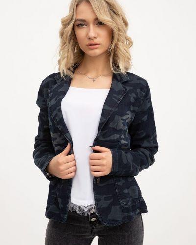 Пиджак милитари - серый Fantom