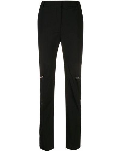Шерстяные брюки - черные Alix