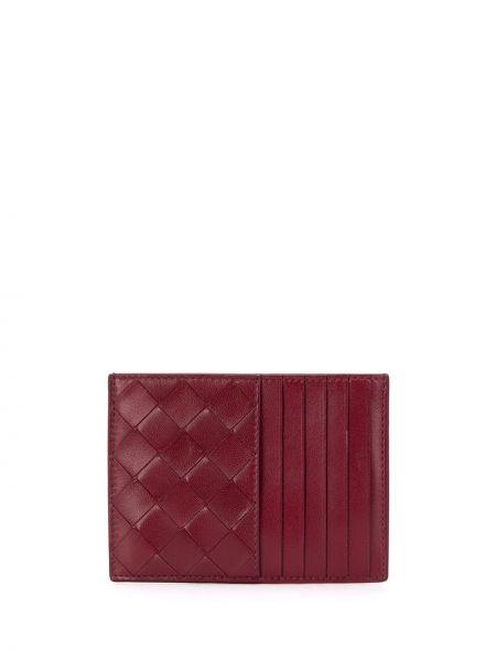 Кожаный кошелек мини с вышивкой Bottega Veneta