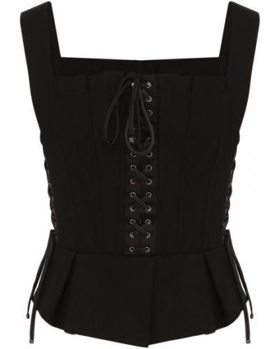 Черное бюстье Dolce & Gabbana