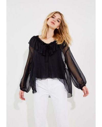 Черная блузка See By Chloe