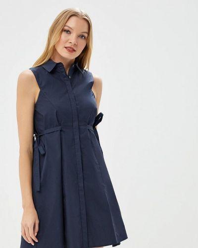 Платье синее Lost Ink Petite