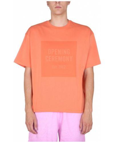 Pomarańczowa t-shirt Opening Ceremony