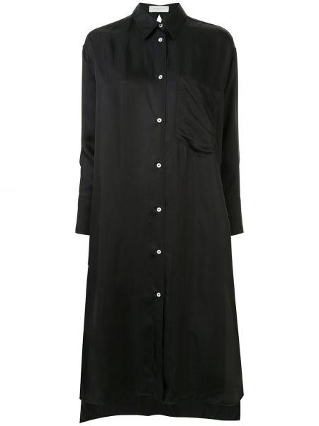 Классическое платье миди на пуговицах с воротником свободного кроя Tomorrowland
