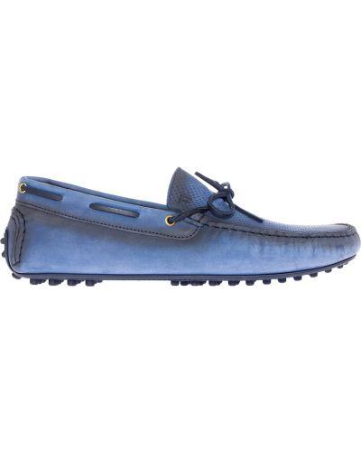 Мокасины спортивные кожаные Trussardi Jeans