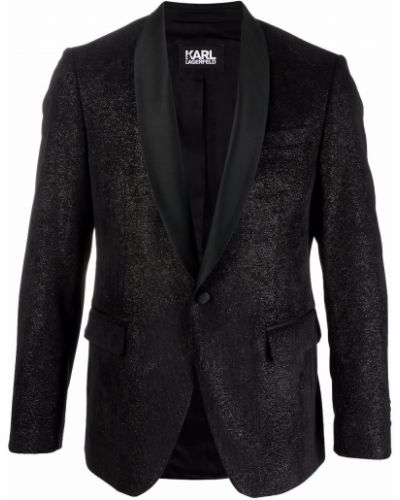 Marynarka - czarna Karl Lagerfeld