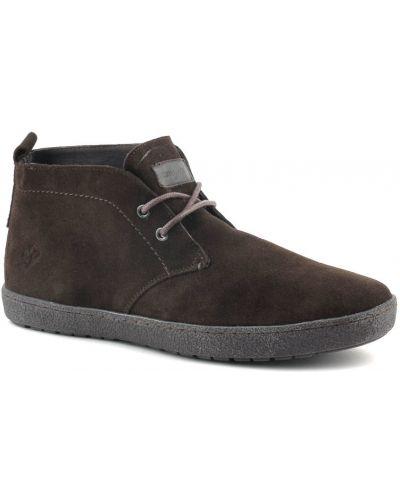 Кожаные ботинки замшевые осенние Lumberjack