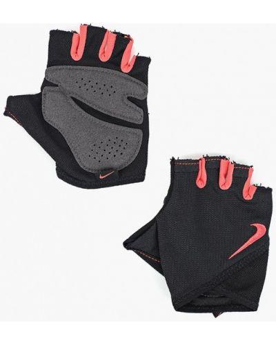 Перчатки черные для фитнеса Nike