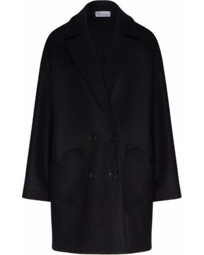 Пальто шерстяное с воротником Red Valentino