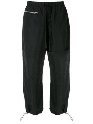 Спортивные брюки из полиэстера - черные Uma   Raquel Davidowicz