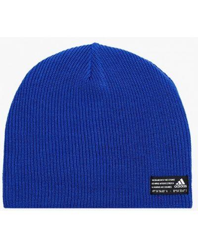 Шапка - синяя Adidas