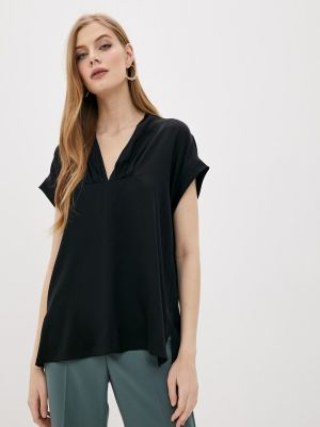 Блузка - черная By Malene Birger