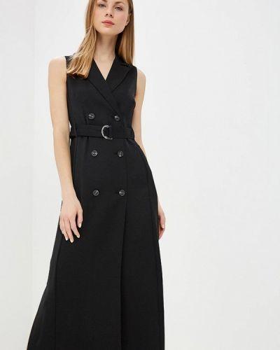 Платье платье-пиджак черное Karen Millen