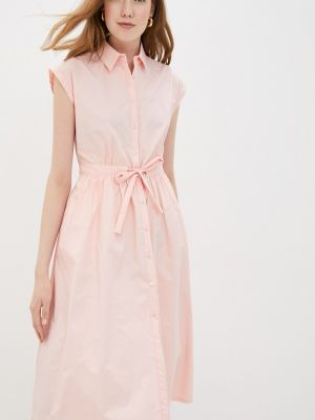 Платье розовое платье-рубашка Compañía Fantástica