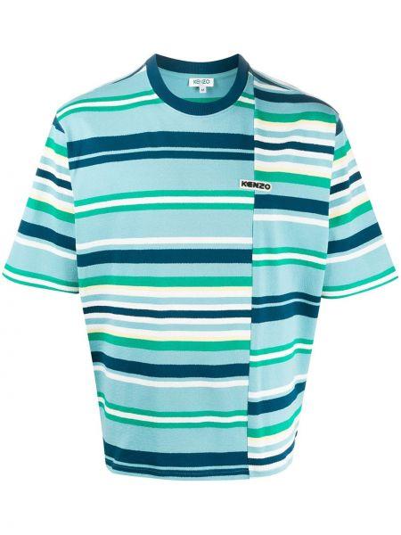 Koszula krótkie z krótkim rękawem z paskami w paski Kenzo