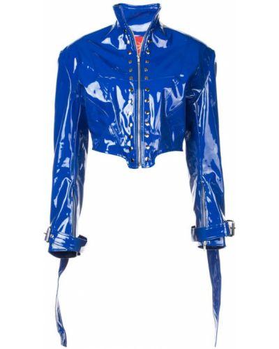 Синяя куртка с манжетами Dilara Findikoglu