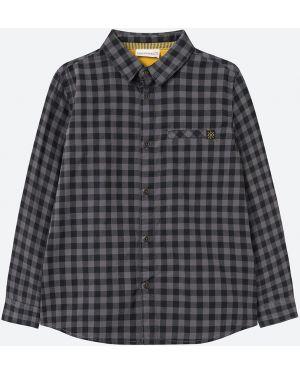 Koszula na przyciskach szary Coccodrillo