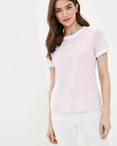 Розовая футболка с короткими рукавами Wrangler