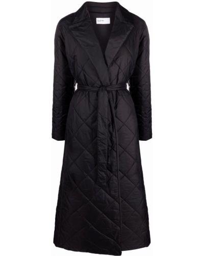 Черное пальто длинное PaltÒ