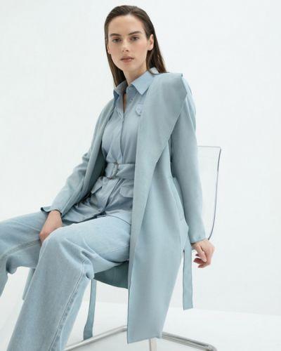 Пальто с поясом Zarina