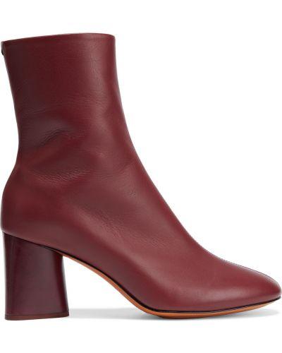 Ankle boots skorzane na obcasie Rag & Bone