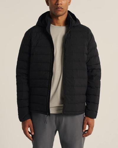 Водонепроницаемая куртка - черная Abercrombie & Fitch
