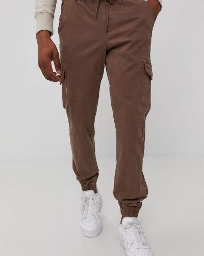 Brązowe spodnie materiałowe Champion