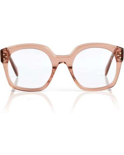 Розовые оправа для очков Céline Eyewear