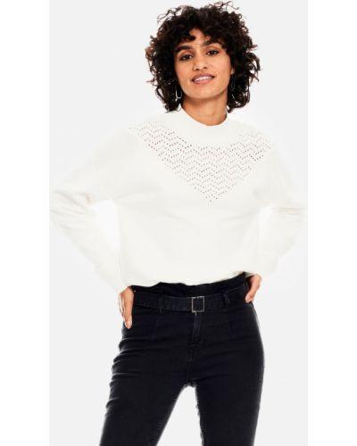 Джинсовый свитер - белый Garcia Jeans