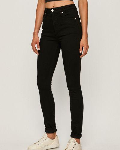 Czarne jeansy bawełniane Calvin Klein Jeans