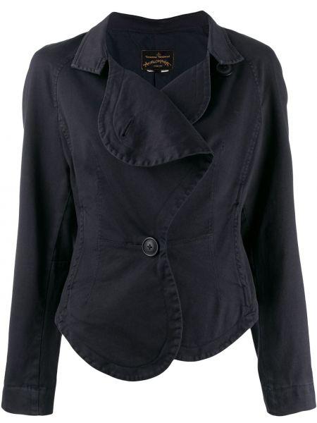 Черная длинная куртка Vivienne Westwood Pre-owned