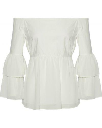 Biała koszulka bawełniana Rachel Zoe