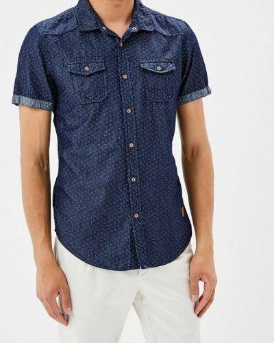 Синяя рубашка Mezaguz
