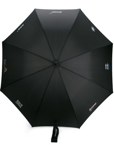 Nylon czarny parasol Ader Error