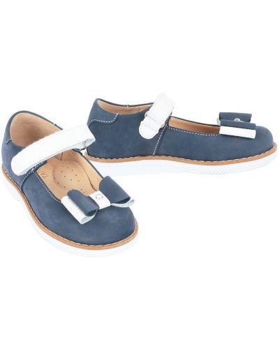 Туфли синие всесезонный Tapiboo