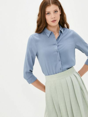 Блузка с длинными рукавами - голубая Tiffosi